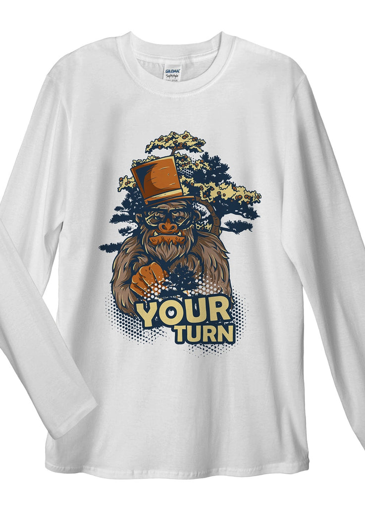 Your Turn Mate Long Sleeve T-Shirt - Idea Is Good