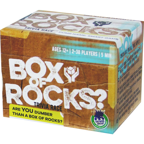 Box of Rocks: Trivia Game
