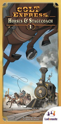 Colt Express: Horses and Stagecoaches