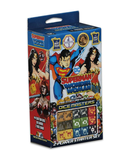 Dice Masters: Superman and Wonder Woman Starter Set