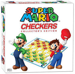 Super Mario Checkers