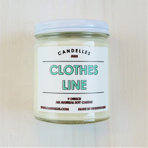 Clothesline 9 Oz Candle