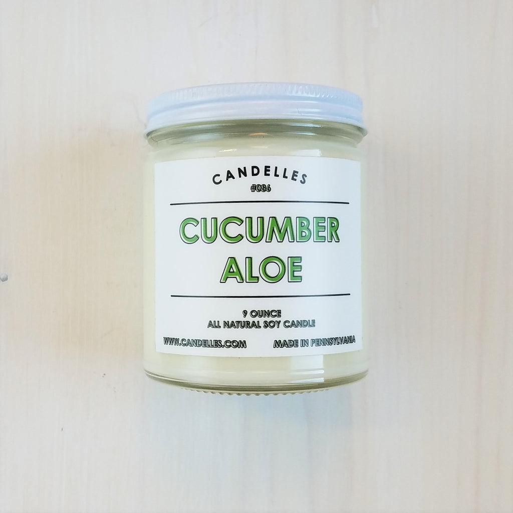 Cucumber Aloe 9 Oz Candle