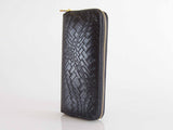 Women's Italian Faux Alligator Vegan Leather Wallet - Multiple Colors
