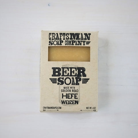 Golden State Hefe Beer Bar Soap
