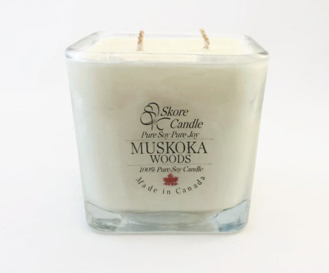 Muskoka Woods Scented Soy Candle