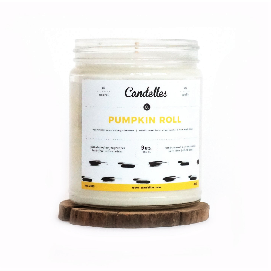 Pumpkin Roll 9 Oz Candle