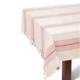 Kayseri Mediterranean Style Tablecloth Set + Napkins - Red