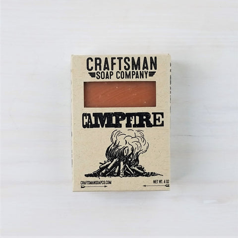 Campfire Scented Bar Soap