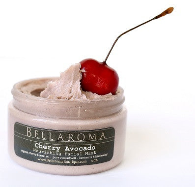 Cherry Avocado Nourishing Face Mask