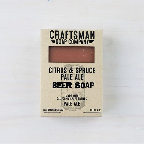 Citrus & Spruce Pale Ale Beer Bar Soap