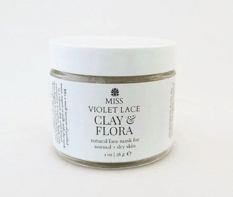Clay & Flora Mask for Dry and Sensitive Skin