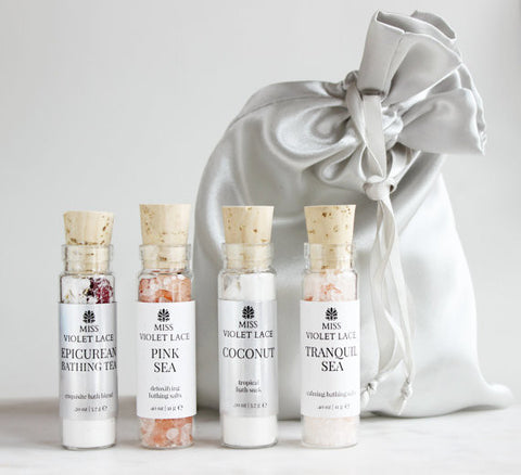 Bath Soak Sampler - Set of 4