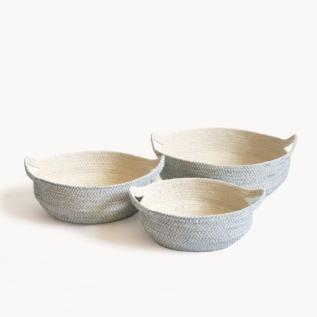 Amari Fruit Bowl - Blue