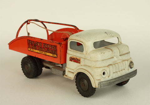 Vintage Antique Structo Toyland Tow Truck c. 1950's