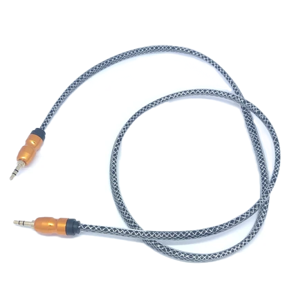 Aluminum Aux Cable 3ft Assorted Colors