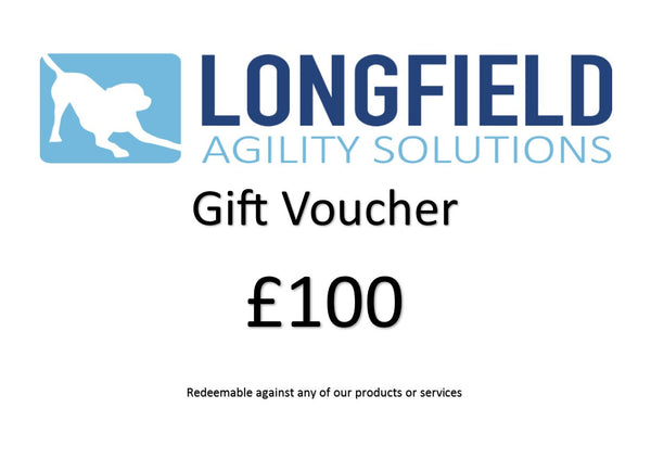 £100 gift voucher - Longfield Agility Solutions