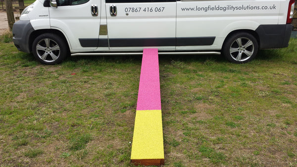12 foot folding Contact Training Plank/Access Ramp - Longfield Agility Solutions