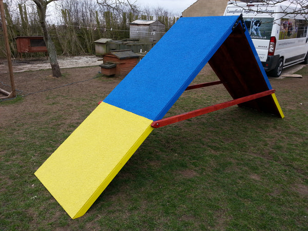 Competition A-frame without slats, 4 feet wide at base - Longfield Agility Solutions