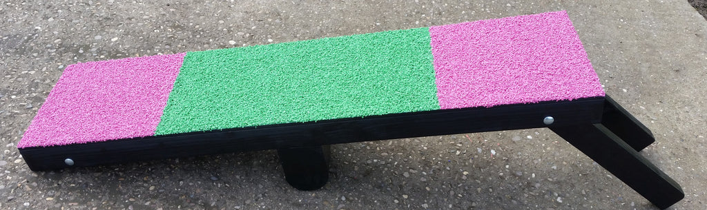 4 foot green pink multi trainer