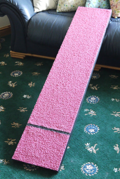 Pink Black Running Board