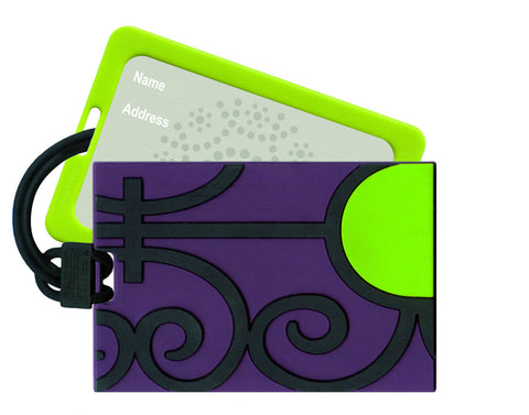 Luggage Tag Ferronerie Verte - Arabesque Boutique