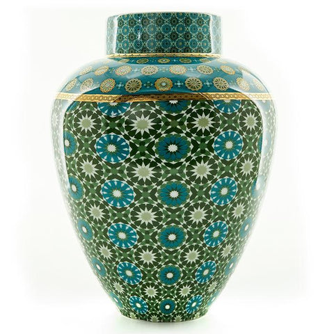 Vase Porcelain Andalusia