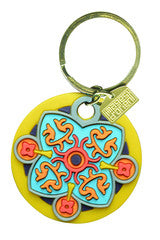 IO Key Chain Lime - Arabesque Boutique
