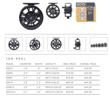 "Echo ""Ion"" Fly Reels"