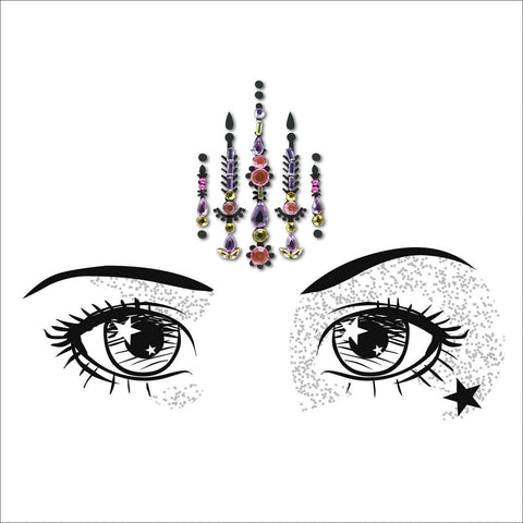 Mystic Soul | Pink One Piece Festival Face Gem | Bindi Jewel Fusion-FunkOn