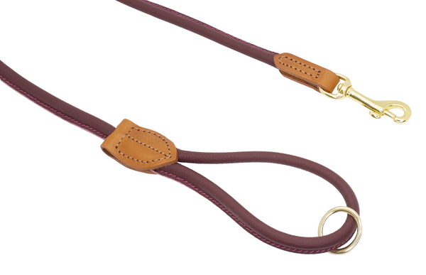Autumn Winter D&H ROLLED LEATHER LEAD