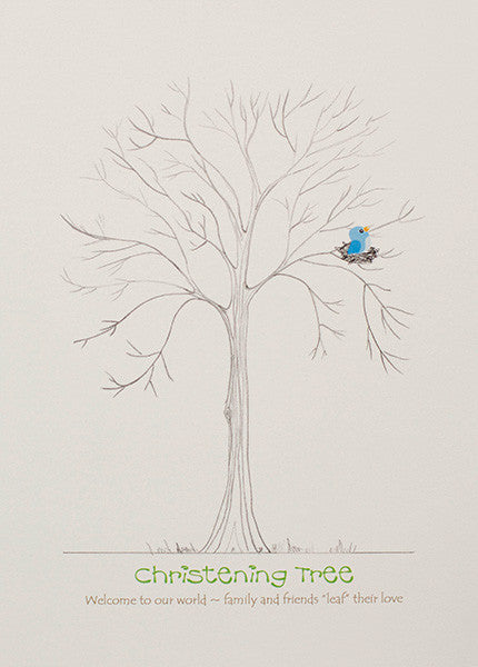 Christening Fingerprint Tree / Naming Day