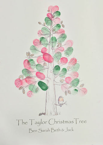 Xmas Fingerprint Tree
