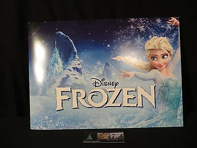 Disney Store Authentic exclusive Frozen lithographs set of 4 Elsa Anna Olaf