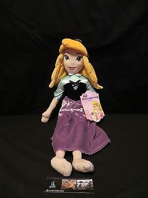 "Disney Store Authentic Briar Rose Soft Plush Doll Lg 20"" Aurora Sleeping Beauty"