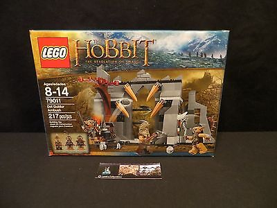 Lego The Hobbit Desolation of Smaug Dol Guldur Ambush 79011 NEW SEALED 217 pcs