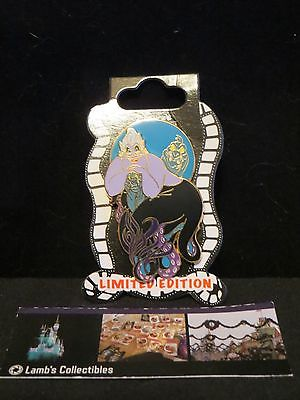 DSF Disney Pin- The Little Mermaid - Ursula, Flotsam & Jetsam - LE400