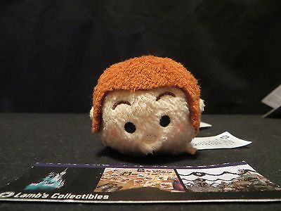 "Disney Store Hans Frozen Tsum Tsum 3.5"" plush mini toy USA"