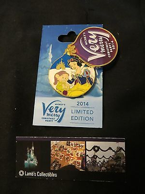 Disney Parks Dopey & Snow White Mickey's Very Merry Christmas Party 2014 pin