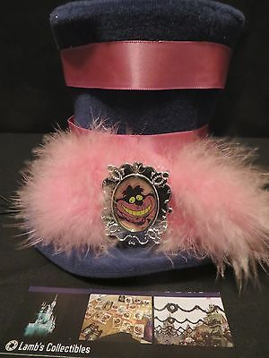 Disney Store Parks Cheshire Cat Mini Top Hat Alice Wonderland Adult Disney Side