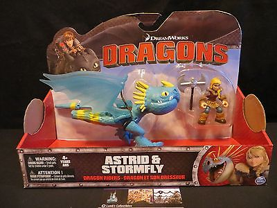 Astrid & Stormfly Dragon Riders How to Train your Dragon DreamWorks