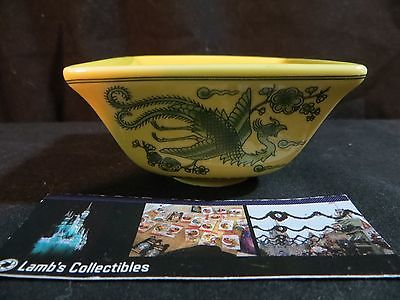 "Green dragon ""Cherry""  Japanese sauce bowl dipping dish FP limited edition"