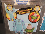 DISNEY Store Authentic Monsters University Action Figure Set Sulley & Squishy