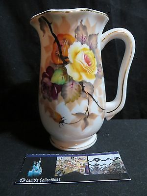 VIntage Usageo china hand painted Japan vase roses