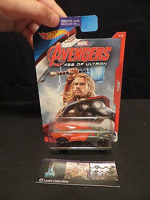 Thor Buzz Bomb Avengers Age of Ultron Hot wheels 5/8 die cast car