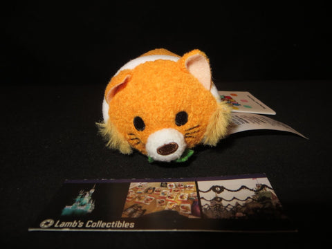 "Disney Store Thomas O'Malley of Aristocats collection tsum tsum 3.5"" USA tag"