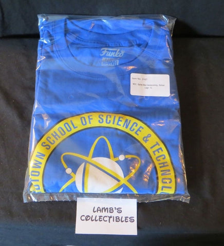 Marvel Collectors Corps Spider-man Homecoming Funko Marvel XL T-shirt blue