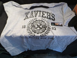 X-men box T-shirt only Marvel Collectors Corps exclusive Grey/black ringer XL
