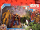 Marvel Universe  Avengers Hasbro 3 Pack Classic Action Figures NIB Rare