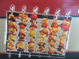 Kabob set by Char-Broil 6 chrome skewers & frame BBQ cookout grill